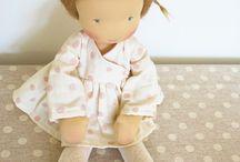 Waldorf-dolls / Hanďade dóls