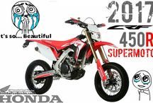2017 Honda CRF450R SuperMoto / Motard Motorcycle - CRF 450 R Bike