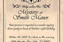 p a r t y . Murder Mystery Dinner