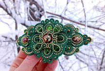 Beautiful handmade brooches and pins