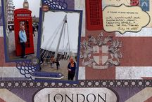 Europe scrapbook pages