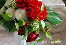 christmas flower arragements