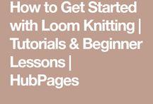 Looms, Crocheting/Knitting, etc...