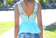 spring/summer outfits. / by Sierra Poole
