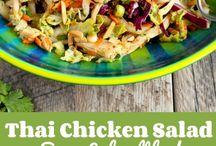 Salad Recipes / Salad recipes.  Healthy Salads.  Healthy Salad Recipes. For more ideas visit www.beforeverhealthier.com!