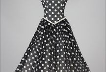 Swing Dresses / Great shaped dresses from 50s fashion