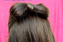 Hairstyles / Hairstyles meant for Long/Medium Hair