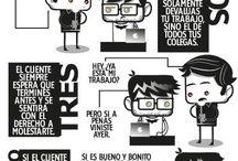 Infografías / by Luis Fernández del Campo
