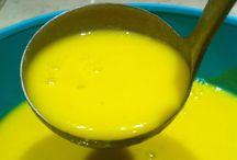 Soupes et soupes au pistou et soupe arabe
