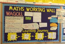 Maths display ideas