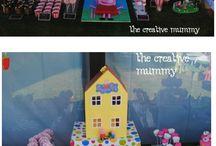 Peppa pig birthday sophya / Ideas cumpleaños