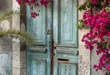 Doors and Keys / beautiful old doors