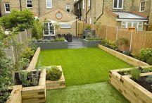 Reihenhausgarten / Hier findet Ihr Ideen zur Gestaltung eines schönen Reihenhausgartens.