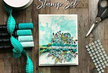 Stampin' Up! spring/summer 18 / Inspirational projects made using Stampin' Up! products from the Occasions catalogue Spring/Summer 2018 catalogue valid 3/1/18 - 31/5/18 to purchase products visit www.issyscraftybees.stampinup.net #issyscraftybees #stampinup #cardideas #birthdaycards #cardmaking #suwaterfront