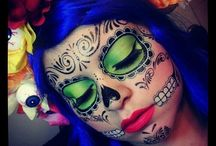 Halloween costume and make-up / Ideas for costumes and make up / by Ghislaine Robichaud