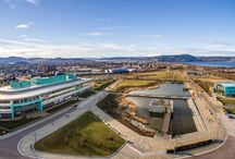 Inverness Campus / Opened in May 2015, the HIE Inverness Campus extends over 35Ha on the southern fringe of the City of Inverness.
