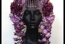 Beautiful accessories / Beautiful and unusual decorations for the head.