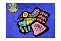 elementary art - Norval Morriseau