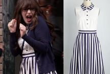Zooey's fashion in New Girl
