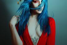 blue n' red