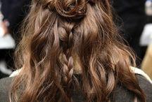 Visage, cheveux