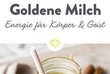 goldene Milch mit zimt