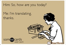 Translation, my new love