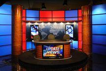 Broadcast Set design tv