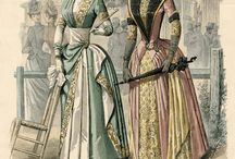 French Fashion in 1800-1900's