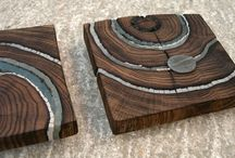 wood +