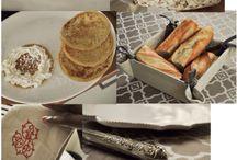 """Planche Tendance """"A table !"""" / Bouchara Paris vous convie à sa table pour partager un moment de convivialité et de plaisir"""