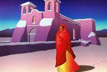 pinturas etnicas mejicanas
