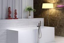 Stenbadekar / Her finder du helstøbte badekar i sten. Er du til et tidløst kvalitets badekar, er et stenbadekar et fantastisk valg. Du kan se hele vores udvalg af Italienske stenbadekar her http://www.spacenteret.dk/category/stenbadekar-137/