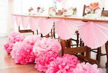 Pöytäsomistukset ja kattaukset - Table decorations