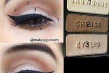 #макияж