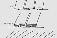 Текстильный дизайн. Drapery Pleats / An A to Z primer on drapery pleat styles.