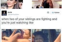 siblings/family