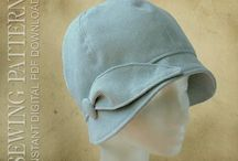 """Sewing Hats - Millinery / """"Hatmaking is the manufacture of hats and head-wear. Millinery is the manufacturing and designing of hats."""" - https://en.wikipedia.org/wiki/Hatmaking"""