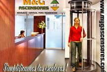 M&G ASCENSORES / Movilidad Vertical para Residencias.