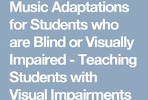 Visually impaired music