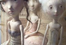 Dolls, Figures, Sculptures 2 / by Susan Byrd