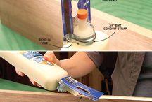 Wood glue trick