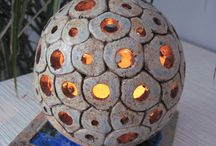 Pottery LAMPSHADE
