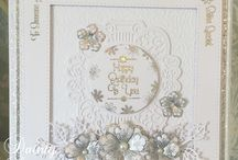 Sentimentally Yours Dainty Daisies Collection 2016 / Samples made using my Sentimentally Yours Dainty Daisies Collection of stamps... All stamps are available on my website at www.honeypotcrafts.co.uk