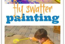 DIY og håndverk til barn / Her samler jeg aktiviteter som kan passe til en 4 åring.