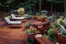 Outdoor backyard