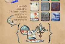 CU Photoshop Styles / Photoshop Styles that I think are cool / by jilbert's Bits of Bytes
