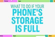 iPhone storrage
