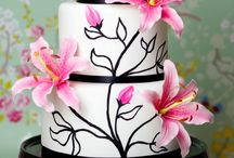 flowers and others for cakes