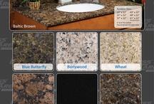 Granite Vanity Tops / All Granite Vanity Tops Are Made From Natural Stone